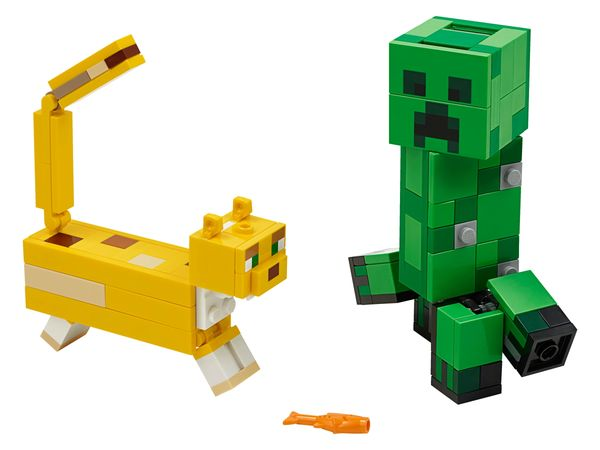 21156 BigFig Creeper™ and Ocelot