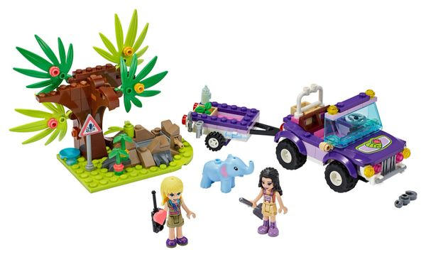 41421 Baby Elephant Jungle Rescue