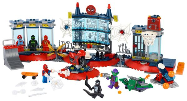 76175 Attack on the Spider Lair
