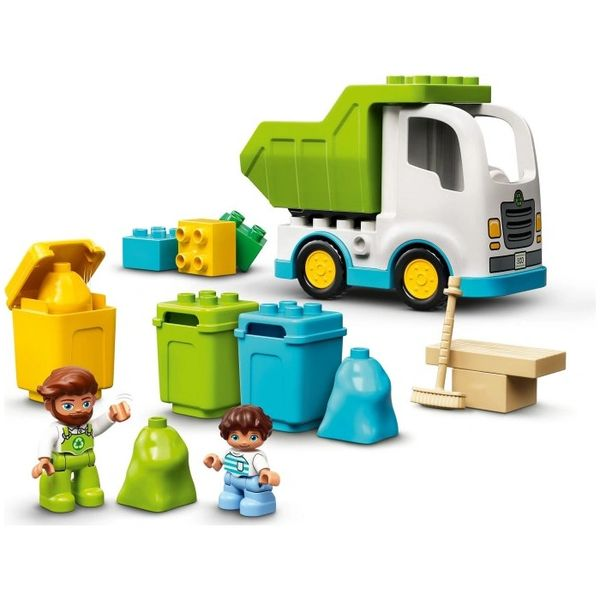 10945 Garbage Truck and Recycling