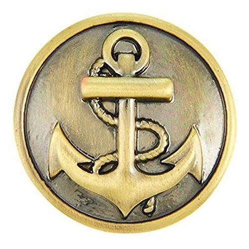 Ginger Snaps ANCHOR SNAP Interchangeable Jewelry Snap Accessory