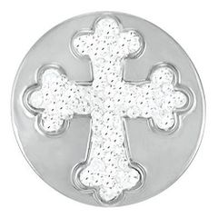 Ginger Snaps CROSS SUGAR SNAP Interchangeable Jewelry Snap Accessory