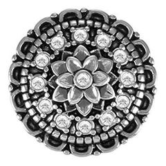 Ginger Snaps BLING DAHLIA Interchangeable Jewelry Snap Accessory