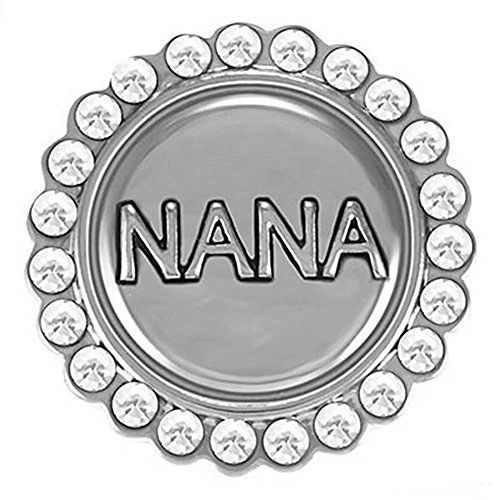 Ginger Snaps BLING NANA Interchangeable Jewelry Snap Accessory