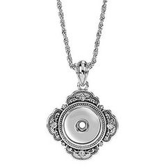 """Ginger Snaps 32"""" GRAND NECKLACE Interchangeable Jewelry Snap Accessory"""