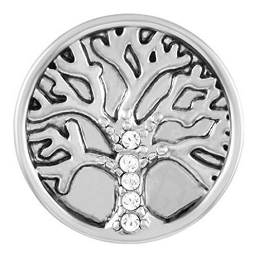 Ginger Snaps STONE FAMILY TREE Interchangeable Jewelry Snap Accessory