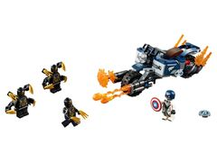 76123 Captain America: Outriders Attack