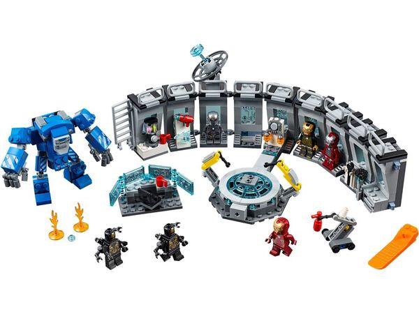 76125 Iron Man Hall of Armor