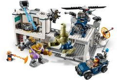 76131 Avengers Compound Battle