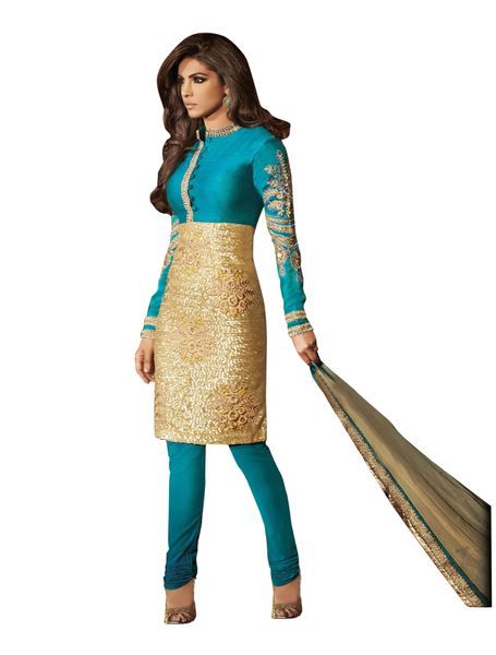 Priyanka Chopra Exclusive Blue Anarkali SC5033