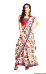 Designer Multi Handloom Silk Light Embellished Saree SCMIS11