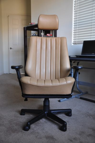 SOLD Thank You! Mercedes-Benz 190E MB-Tex Office Chair - Palomino