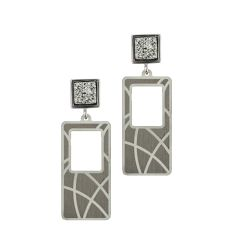 Frederic Duclos Drusy Earrings