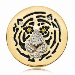 Medium Nikki Lissoni Tiger Coin