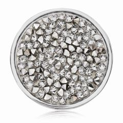 Medium Nikki Lissoni Rock Crystal Coin