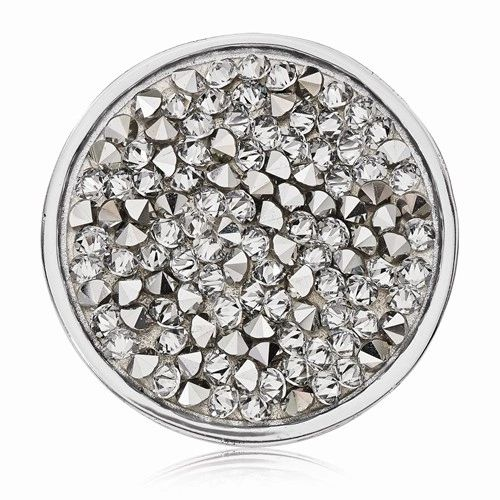 Medium Nikki Lissoni Rock Crystal Coin