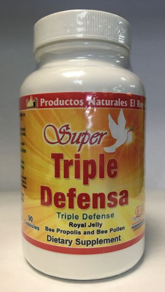 Triple Defensa (Royal Jelly, Bee Propolis and Bee Pollen)