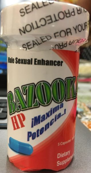 Bazooka Natural Male Enhancer (5 caps)