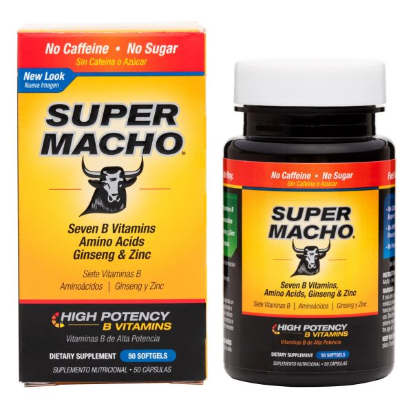 Super Macho (50 softgels)