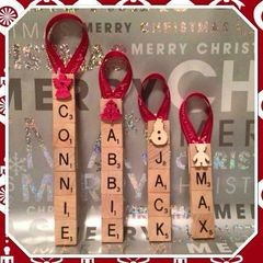 Christmas tree decorations EACH
