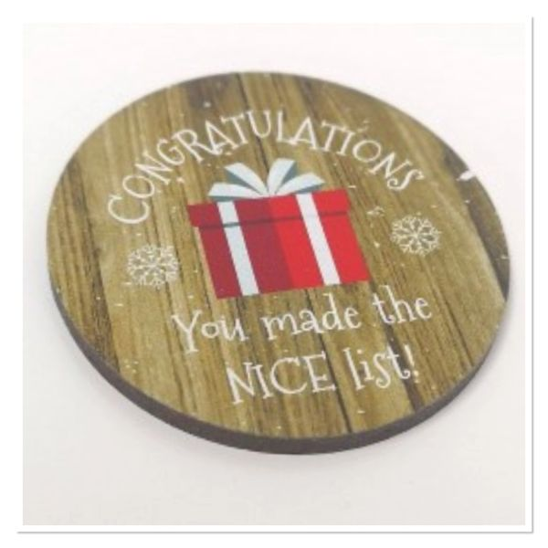 CONGRATULATIONS You made the nice list token
