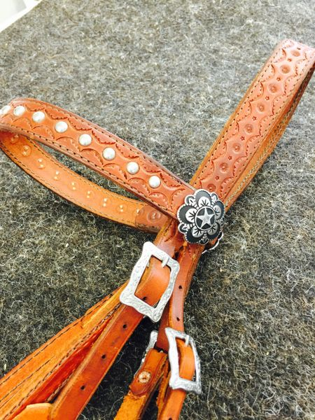 MILITARY STYLE TRAIL BRIDLE