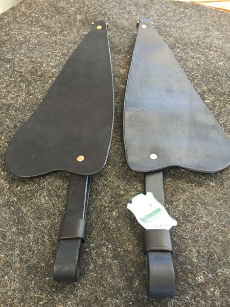 Heavy Duty Stirrup Leathers w/ Fenders