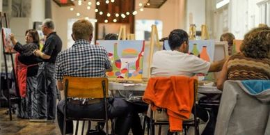 sip and paint, creative workshops bathurst