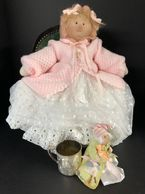Nobody puts our Babies in a corner!  Each of our one of a kind Little Souls baby dolls wants to be p