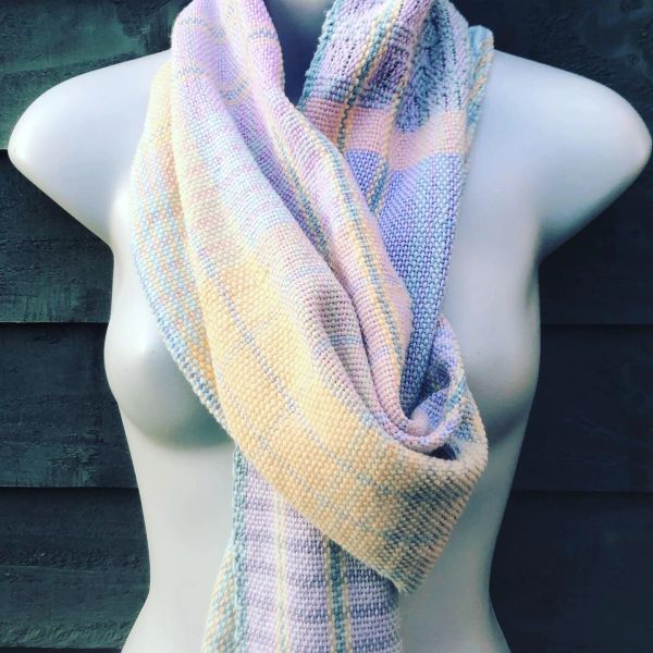Pick 'n' Mix handwoven cotton collection - Blanket style scarf wrap