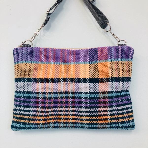 Handwoven cotton collection - medium shoulder bag