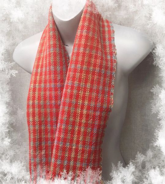 Handwoven Cotton Scarf - Long slim