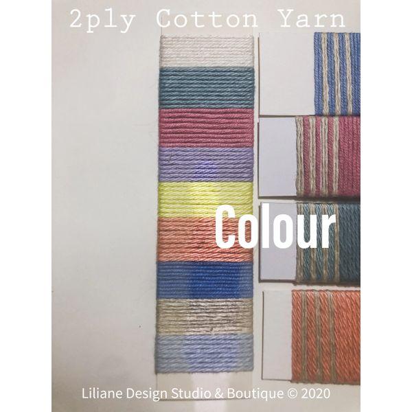 Weaving yarn pack 2ply/DK 2021