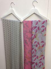 Printed Silk Chiffon Scarves