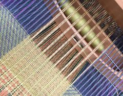Loom Woven Textiles Course - 2019 An introduction to Pattern Weaving with Cotton