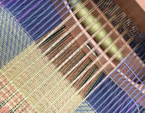 Loom Woven Textiles Course - Winter 2020 An introduction to woven textile design