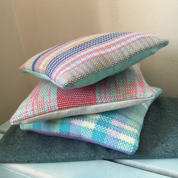Handwoven cushion cover - made to order