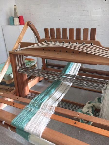 Bespoke Handwoven Cotton blend Scarf