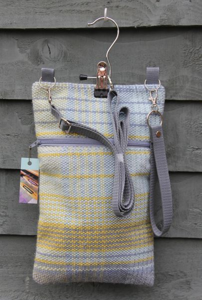 Messenger bag - made in handwoven cloth