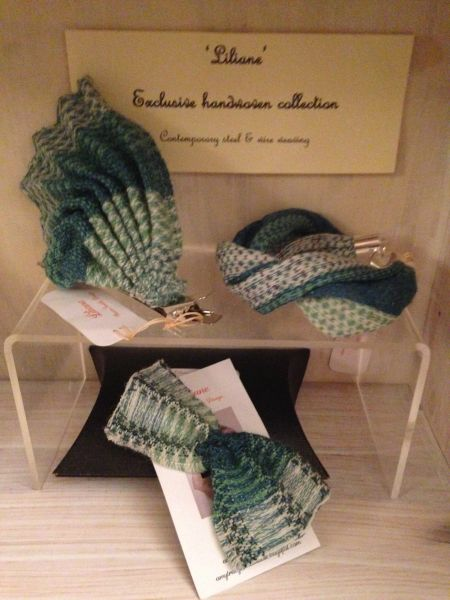 Handwoven Wool & Steel Accessories