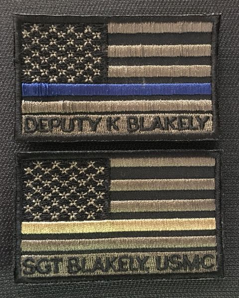 Kevin Blakely Tribute patch