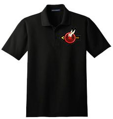 B2 - Motors Winged Wheel Polo Shirt, Drifit or Cotton, choice of Winged Wheel