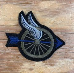 A1 - Winged Wheel Motors Patch - Custom Color Combos Available