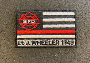 H1 - Lt. Jay Wheeler Tribute Patch