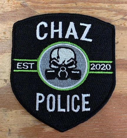 A12 - CHAZ Police Patch
