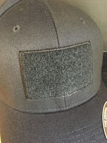 D - Flex Fit Velcro front hat-patch must be ordered separately