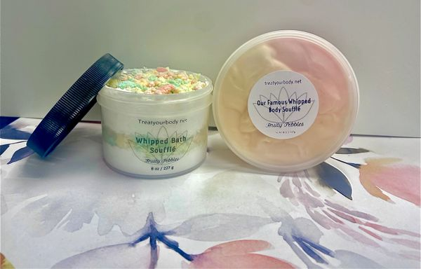 Whipped Body Soufflé & Whipped Bath Soufflé Duo