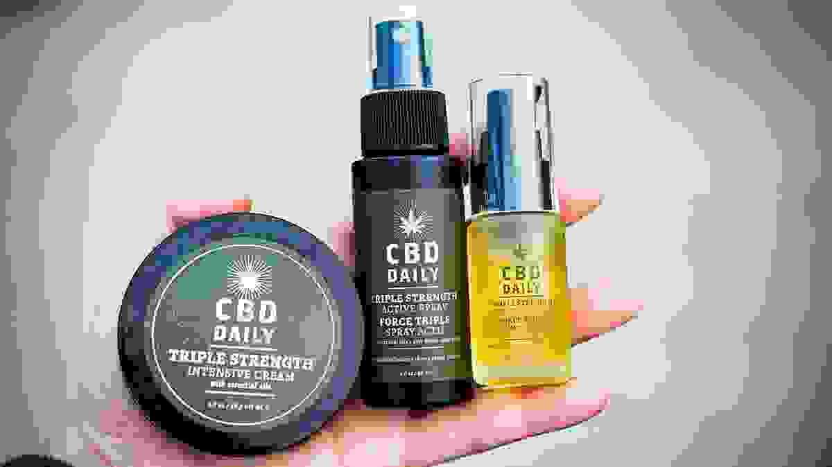 cbd daily products