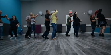Learn beginning country dance, ballroom, swing, and latin dances in an easy to follow format