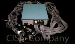 Tektronix TMS818 Probe Adapter w/ Probe Cables
